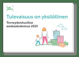 E-opas - Terveydenhuollon asiakaskokemus 2025